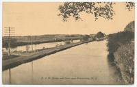 D. & H. Bridge and Canal near Schenectady, N.Y. [front caption] (1front) [e0603ac1]