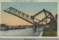 Lift Bridge, foot of Ferry St., Buffalo, N.Y. [front caption] (1front) [e0123ac1]