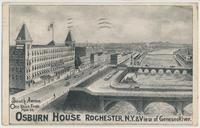 OSBURN HOUSE ROCHESTER, N.Y. &… [portion of front caption] (1front) [e0029ac1]
