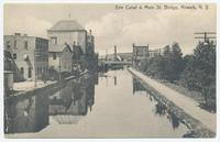 Erie Canal & Main St. Bridge, Newark, N.Y. [front caption] (1front) [e0591ac1]