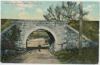 Scene at Aqueduct, Schenectady, New York [front caption] (1front) [e0035ac1]