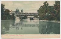 Aqueduct, High Falls, N.Y. [front caption] (1front) [d0096ac1]