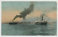 Entrance to Harbor. Buffalo. N.Y. [front caption] (1front) [e0606ac1]