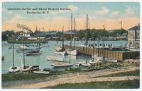 Charlotte Harbor and Naval Reserve Station, Rochester, N.Y. [front caption] (1front) [e0598ac1]