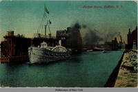 Harbor Scene, Buffalo, N.Y. [front caption] (1front) [e0140ac1]