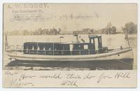 The Triton on the Erie Canal (1front) [e0630ac1]