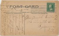 CANAL AND LOCKS, NEWARK, N.Y. [front caption] (2back) [e0082ac2]