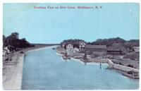 Looking East on Erie Canal, Middleport, New York [front caption] (1front) [e0624ac1]