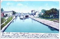 Frankfort Lock, Erie Canal. Frankfort, New York [front caption] (1front) [e0067ac1]