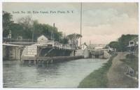 Lock No. 32, Erie Canal, Fort Plain, N.Y. [front caption] (1front) [e0064ac1]