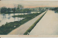 Erie Canal and Clyde River, Lyons, N.Y. [front caption] (1front) [e0079ac1]
