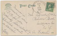 THE WILLOWS - ELLENVILLE, N.Y. [handwritten front caption] (2back) [d0093ac2]
