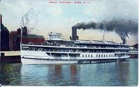 "Steamer ""Americana,"" Buffalo, N.Y. [front caption] (1front) [e0631ac1]"
