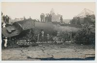 Wreck at Boonville, N.Y. Showing Bed Of Canal. No.14 July 4, 08 [handwritten front caption] (1front) [k0014ac1]