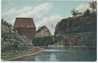 Little Falls, New York. Lover's Leap [front caption] (1front) [e0013ac1]