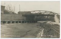 Barge Canal Bridge, Baldwinsville, N.Y. [handwritten front caption] (1front) [b0068ac1]