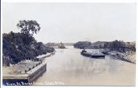 View of Barge Canal. State Ditch. [handwritten front caption]  (1front) [b0065ac1]