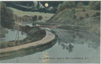 The old D. and H. Canal in 1897, ELLENVILLE, N.Y. [front caption] (1front) [d0107ac1]