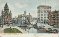 Clinton Square, Syracuse, N Y. [front caption] (1front) [e0040ac1]