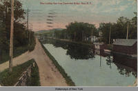 View Looking East from Typewriter Bridge, Ilion, N.Y. [front caption] (1front) [e0165ac1]