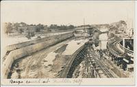 Barge Canal at Fulton N.Y. [handwritten front caption] (1front) [b0078ac1]