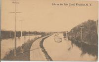 Life on the Erie Canal, Frankfort, N.Y. [Front caption] (1front) [e0665ac1]