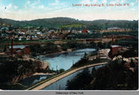 Lovers' Leap looking E., Little Falls, N.Y.  [front caption] (1front) [e0166ac1]