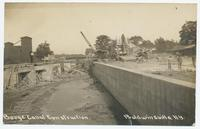 Barge Canal Construction. Baldwinsville, N.Y. [handwritten front caption] (1front) [b0074ac1]