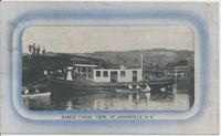 BARGE CANAL VIEW, ST. JOHNSVILLE, N.Y. [front caption] (1front) [b0081ac1]