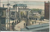 Lift Bridge al noon Ilion N.Y. [Front caption] (1front) [e0648ac1]