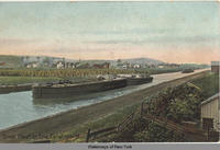 Steel Fleet on Erie Canal near Ilion, NY [front caption](1front) [e0155ac1]