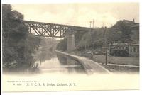 N.Y.C.R.R. Bridge, Lockport, N.Y. [front caption] (1front) [b0088ac1]