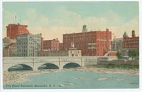 Erie Canal Aqueduct, Rochester, New York [front caption] (1 front) [e0599ac1]