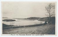 FALLS ON MOHAWK RIVER AT LOCK NO.7 [hand printed front caption] [b0039ac1]