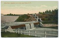Delta Dam, Aqueduct and Locks, near Rome, N.Y.[front caption] (1front) [b0037ac1]