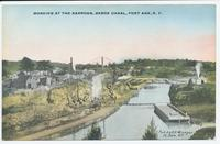 WORKING AT THE NARROWS, BARGE CANAL, FORT ANN, N.Y. [front caption] (1front) [b0040ac1]