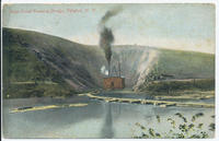Barge Canal Pumping Dredge, Pittsford, New York  [front caption] (1front) [b0019ac1]