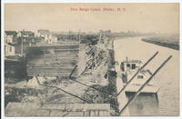 Erie Barge Canal, Holley, New York  [front caption] (1front) [b0020ac1]