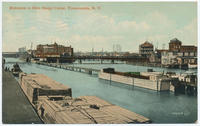 Entrance to New Barge Canal, Tonawanda, New York [front caption] (1front) [b0003ac1]
