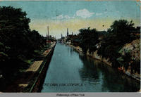 ERIE CANAL VIEW, LOCKPORT, N.Y. [front caption] (1front) [e0194ac1]
