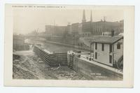 CANAL WORK. LOCKPORT, N.Y. [front caption] (1front) [b0091ac1] [handwritten front caption in white ink]