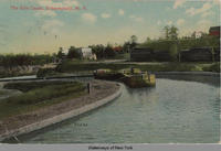 The Erie Canal, Schenectady, N.Y. [front caption] (1front) [e0243ac1]
