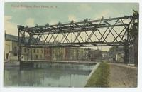 Canal Bridges, Fort Plain, N.Y. [front caption in red ink] (1front) [e0681ac1]