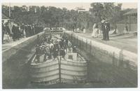 Down in the Locks, Aqueduct, near Schenectady, N.Y. [front caption] (1front) [e0711ac1]