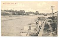 Barge Canal, Albion, N.Y. [front caption] (1front) [b0108ac1]
