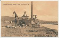 Suction Dredge Barge Canal, Frankfort, N.Y. [front caption] (1front) [b0116ac1]