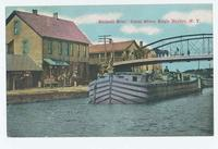 Bennett Bros.' Canal Store, Eagle Harbor, New York [front caption, printed in red ink] (1front) [e0687ac1]