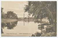 Barge Canal Terminal, FORT EDWARD, N.Y. [front caption] (1front) [b0099ac1]