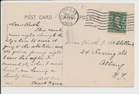 Erie Canal, Utica, N.Y. [front caption in red ink] (2 back) [e069ac1]