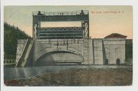 Big Lock, Little Falls, New York [front caption] (1front) [b0107ac1)